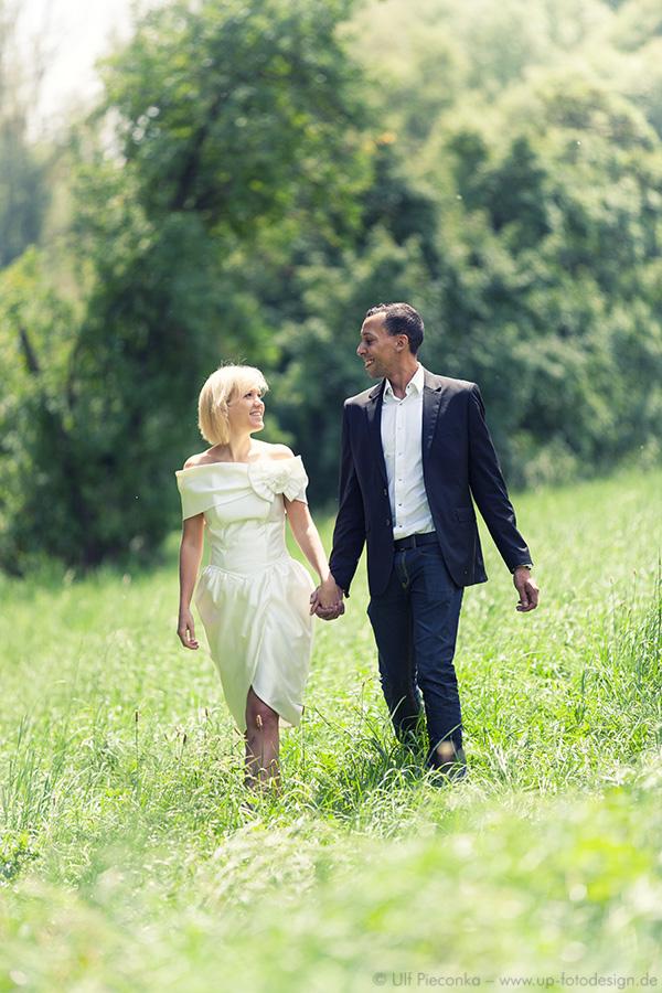 Hochzeit und Verlobung in Würzburg - Paar-Fotoshooting